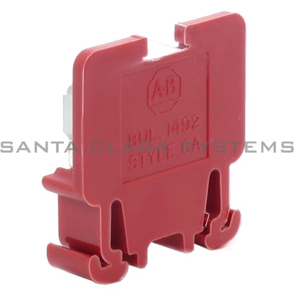 Allen Bradley 1492-CA1-RE Terminal Block | Red Product Image