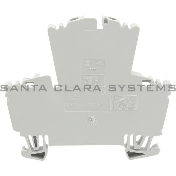Allen Bradley 1492-JD3C Terminal Block Gray Product Image