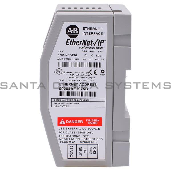 1761-NET-ENI Allen Bradley Ethernet Interface | MicroLogix 1000 ...