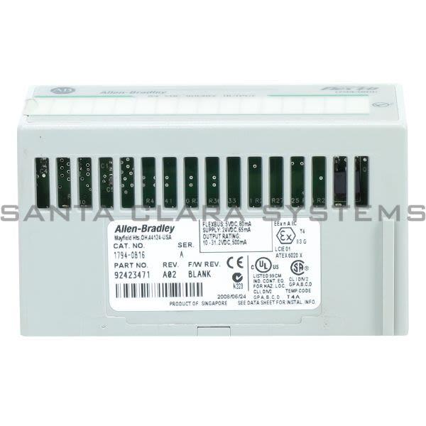 Allen Bradley 1794-OB16 Output Module | FlexLogix Product Image