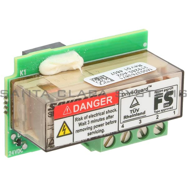 Allen Bradley 20A-DG01 PowerFlex 70 Driveguard Safe-Off Interface Product Image