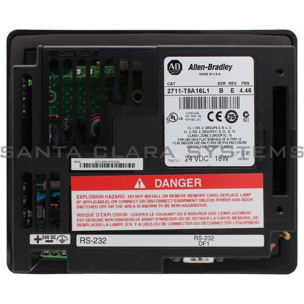 Allen Bradley 2711-T5A16L1 PanelView 550 Product Image