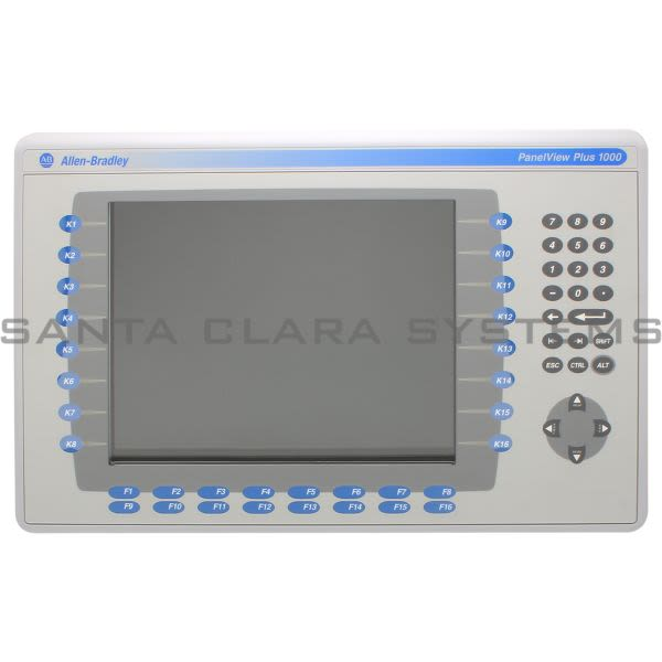 Allen Bradley 2711P-K10C4A2 PanelView Plus Product Image