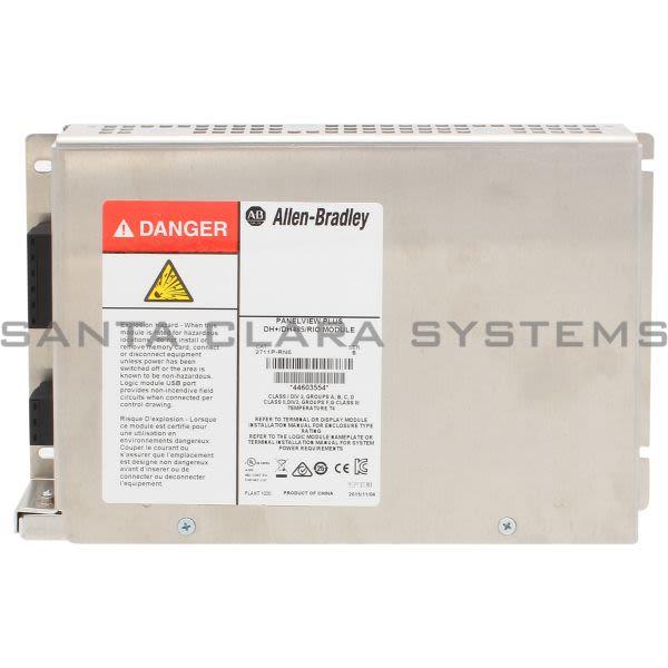 Allen Bradley 2711P-RN6 PanelView Plus 700-1500 DH+/RIO/DH-485 Communication Module Product Image