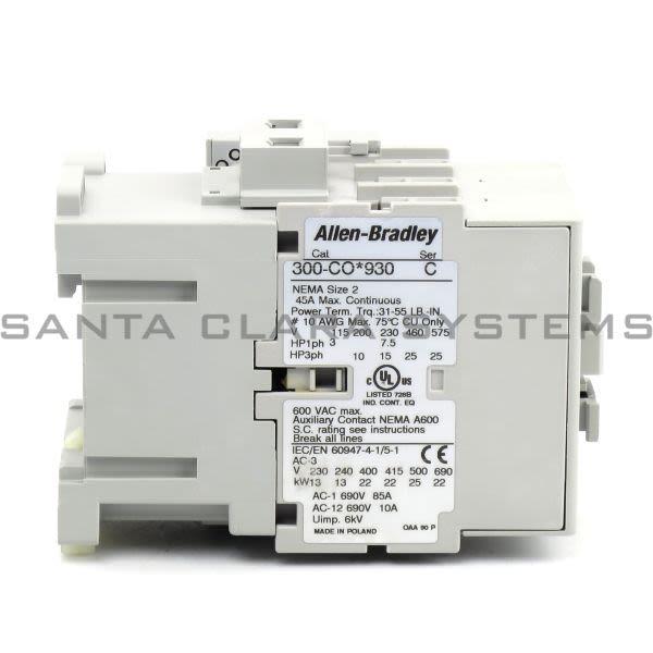 Allen Bradley 300-COD930 Contactor Product Image
