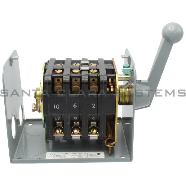 Allen Bradley 350-BAV Reversing Drum Switch Product Image
