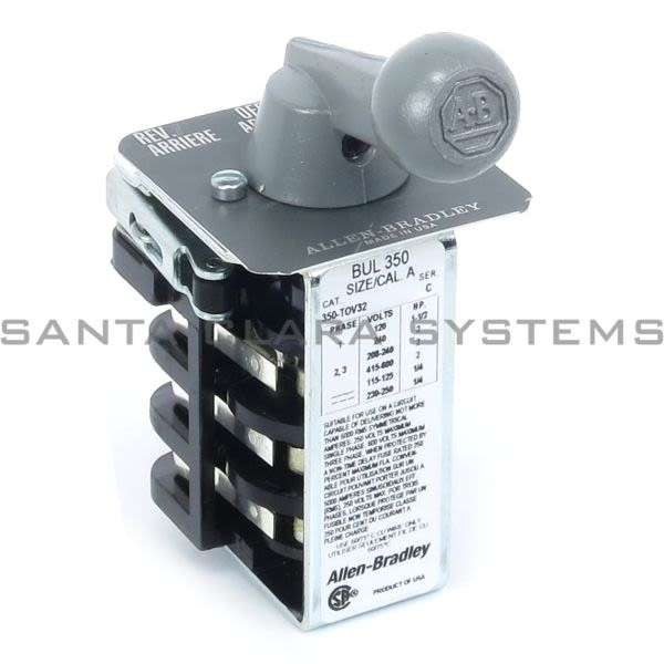 Allen Bradley 350-TOV32 Reversing Drum Switch Product Image