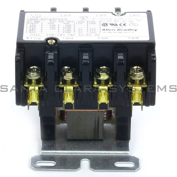 Allen Bradley 400-DP25NA4 Definite Purpose Contactor Product Image
