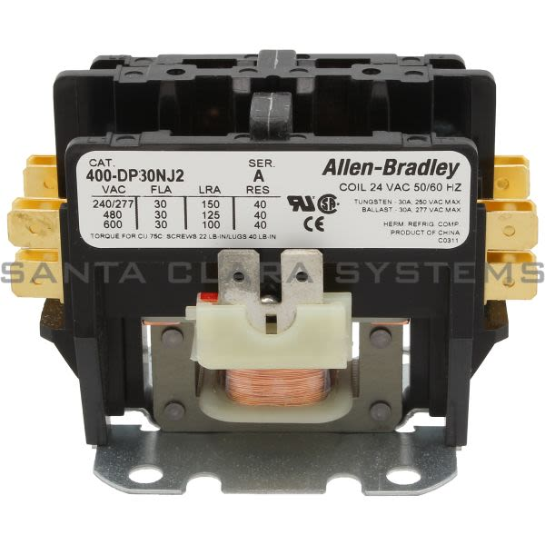 Allen Bradley 400-DP30NJ2 Definite Purpose Contactor Product Image