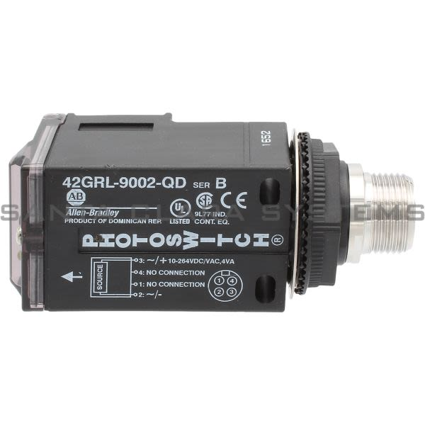 Allen Bradley 42GRL-9002-QD PhotoSwitch Product Image