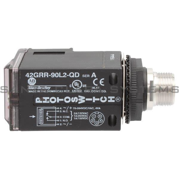 Allen Bradley 42GRR-90L2-QD PhotoSwitch Product Image