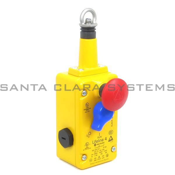 Allen Bradley 440E-L13042 Lifeline 4 Cable Pull Switch Product Image