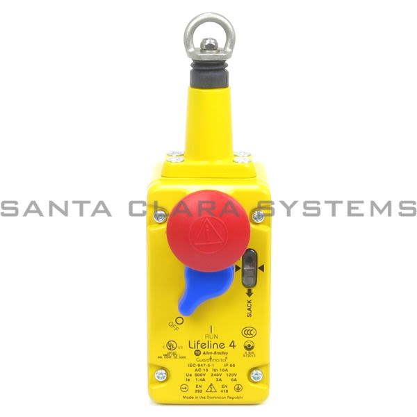Allen Bradley 440E-L13043 Safety Cable Pull Switch | Lifeline 4 Product Image