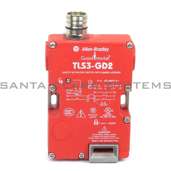 Allen Bradley 440G-T27247 Safety Switch | GuardMaster TLS-3 GD2 24V Product Image