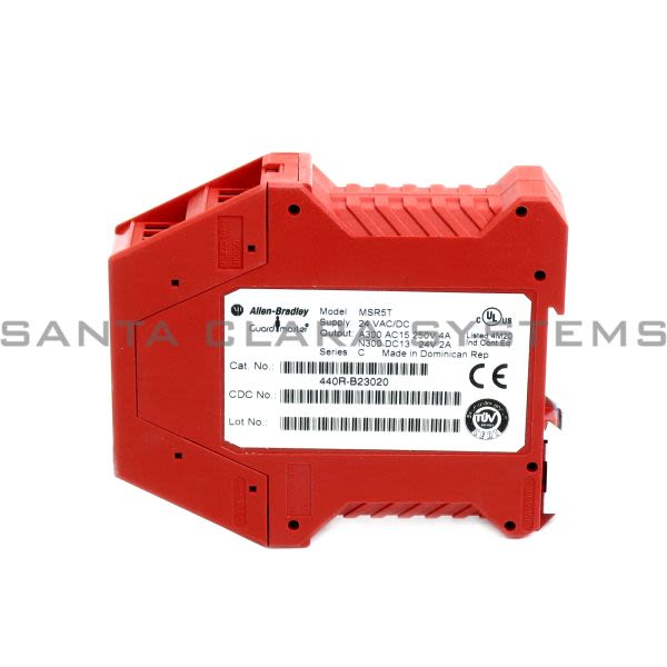 Allen Bradley 440R-B23020  Safety Relay | GuardMaster Minotaur MSR5T Product Image