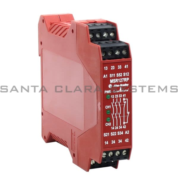 Allen Bradley 440R-N23135 Safety Relay | GuardMaster Minotaur MSR127RP Product Image