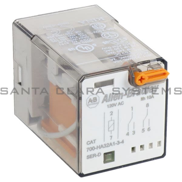 Allen Bradley 700-HA32A1-3-4  Tube Base Relay Product Image