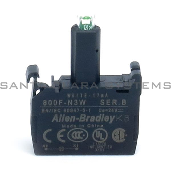 Allen Bradley 800F-N3W Integrated LED Latch Mount Product Image