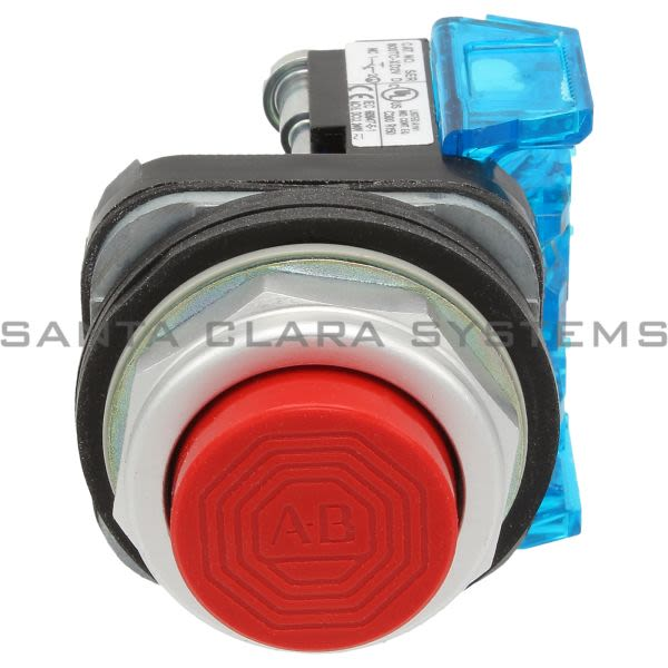 Allen Bradley 800TC-B6D2V Pushbutton | Finger Safe Product Image