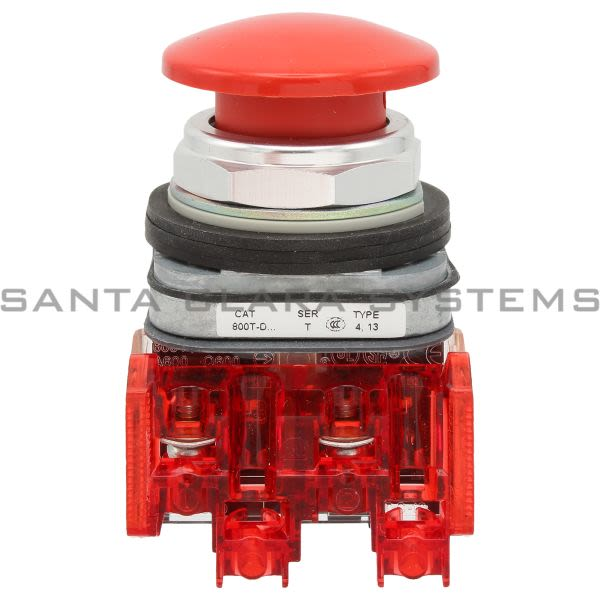 Allen Bradley 800TC-D6D2 Pushbutton | Finger Safe Product Image