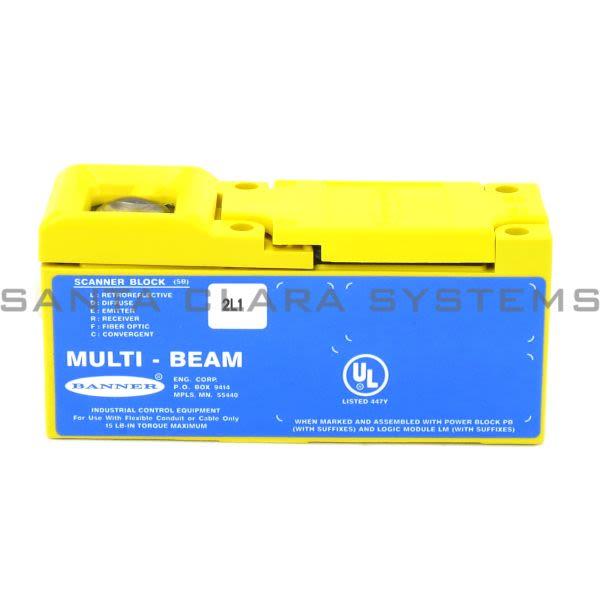 Banner 2SBL1-17669 Scanner Block | MULTI-BEAM Product Image