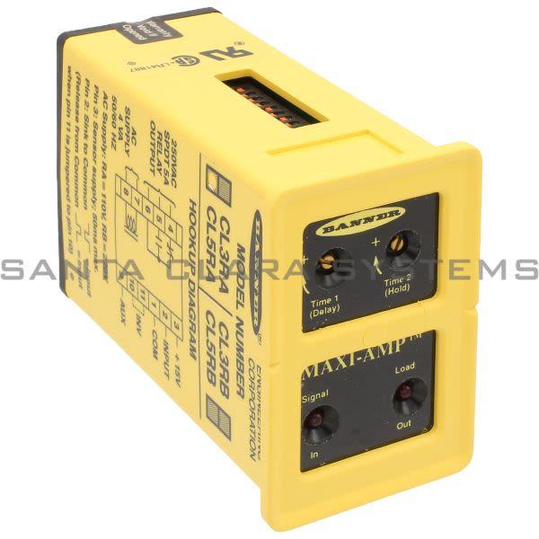 Banner CL5RA-26419 Logic Module | MAXI-AMP Product Image