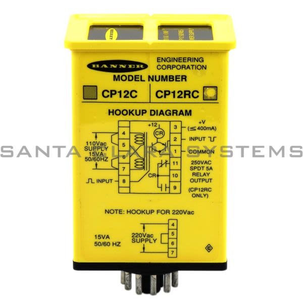 Banner CP12RC-26421 Power Supply | MAXI-AMP Product Image
