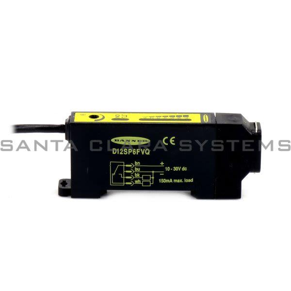Banner D12SP6FVQ-33715 Photoelectric Sensor | D12 Series Product Image