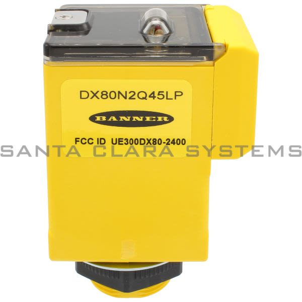 Banner DX80N2Q45LP-26110 Wireless Sensor Product Image