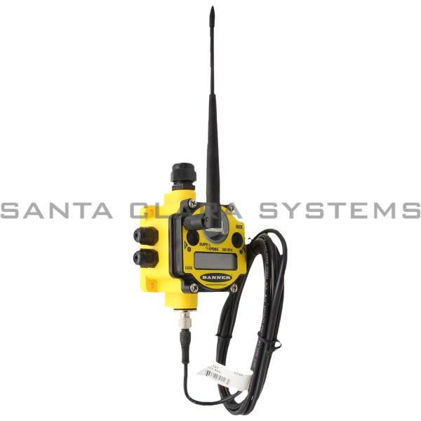 Banner DX80N9X2S2N2T-77460 Wireless Node Product Image