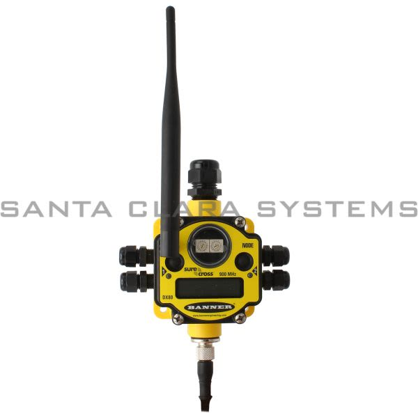 Banner DX80N9X6S6P6-77602 Wireless Node | SureCross DX80 Product Image