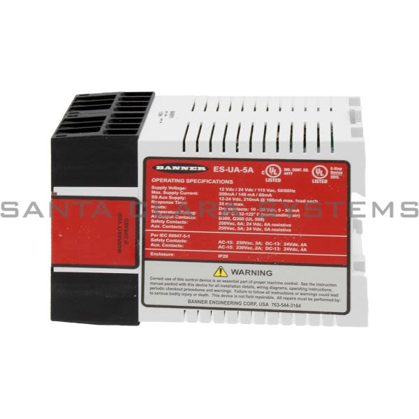 Banner ES-UA-5A-66091 Safety Module Product Image