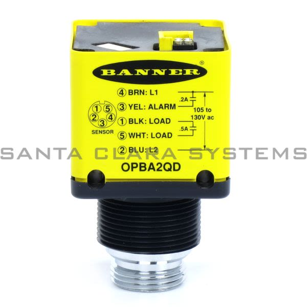Banner OPBA2QD-27094 Power Block | OMNI-BEAM Product Image