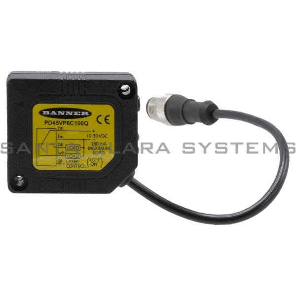 Banner PD45VP6C100Q-46289 Convergent Sensor | PicoDot Series Product Image