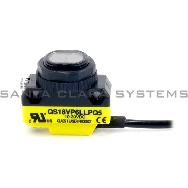 Banner QS18VP6LLPQ5-73244 Laser Retroreflective Sensor | WORLD-BEAM Product Image