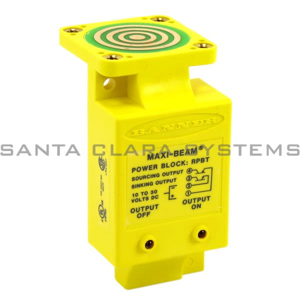 Banner RPBT-25643 Power Block | MAXI-BEAM Product Image
