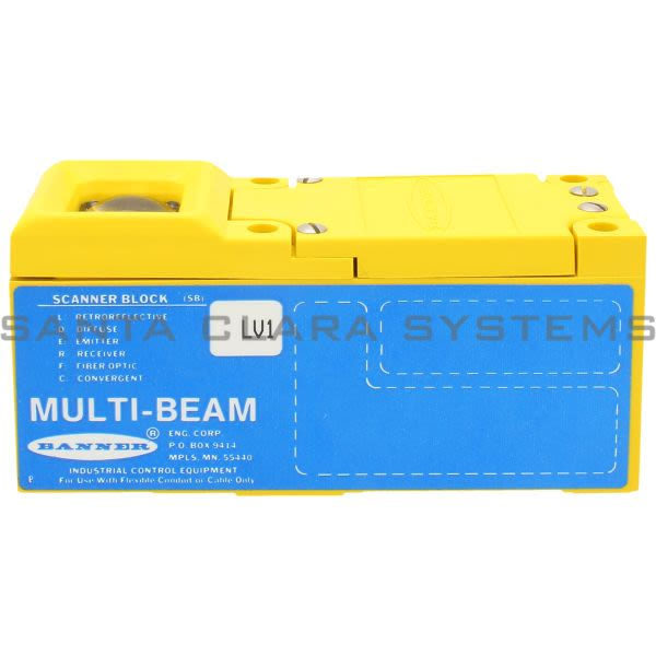 Banner SBLV1-17632 Scanner Block | MULTI-BEAM Product Image