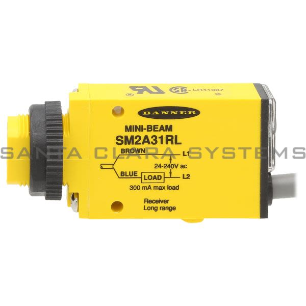 Banner SM2A31RL-26061 Opposed Sensor | Receiver Product Image