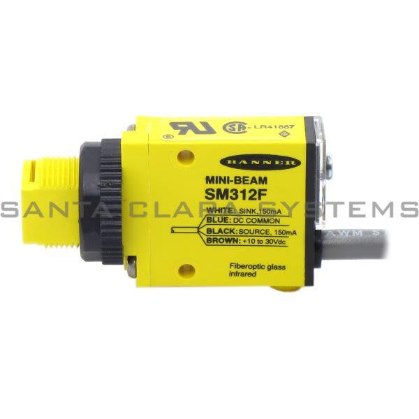 Banner SM312F-25620 Glass Fiber Optic | MINI-BEAM Product Image