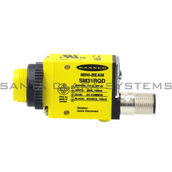 Banner SM31RQD-26839 Opposed Sensor | Reciever | MINI-BEAM Product Image