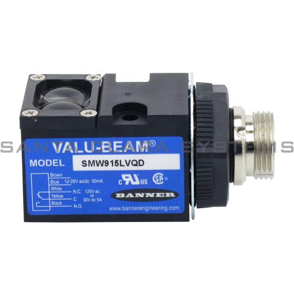 Banner SMW915LVQD-26171 Quick-Disconnnet Sensor Product Image