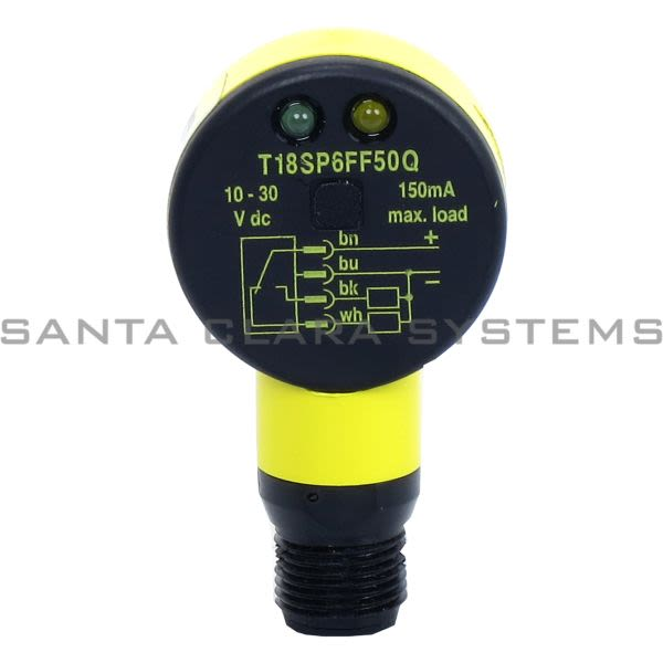 Banner T18SP6FF50Q-33414 Fixed Field Sensor Product Image