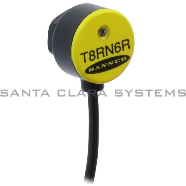 Banner T8RN6R-66665 Opposed Sensor | Receiver | T8 Series Product Image