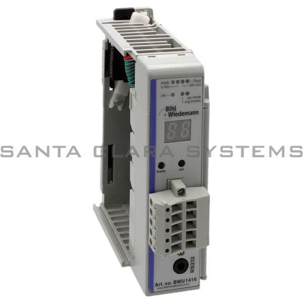 Bihl Wiedemann BWU1840 AS-I 3.0 Interface Master Module for Allen-Bradley CompactLogix Product Image