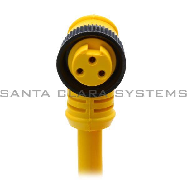 Brad Harrison 103001A01F060 3 Pin Female Cordset | 1300060426 Product Image