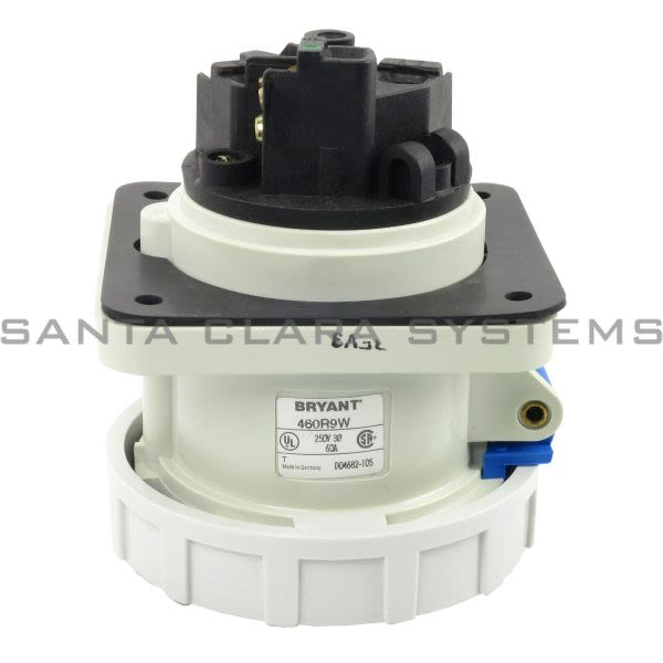 Bryant 460R9W Pin and Sleeve Receptacle Connector | Hubbell Product Image