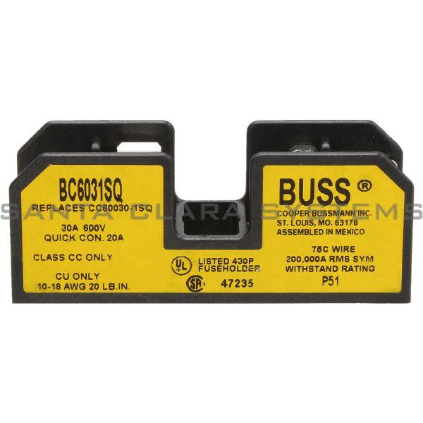 Bussmann BC6031SQ Tron Fuseblock (10 Per Box) Product Image