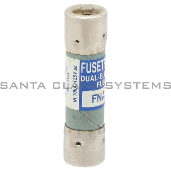 Bussmann FNA-5 125V Fusetron Dual Element Product Image