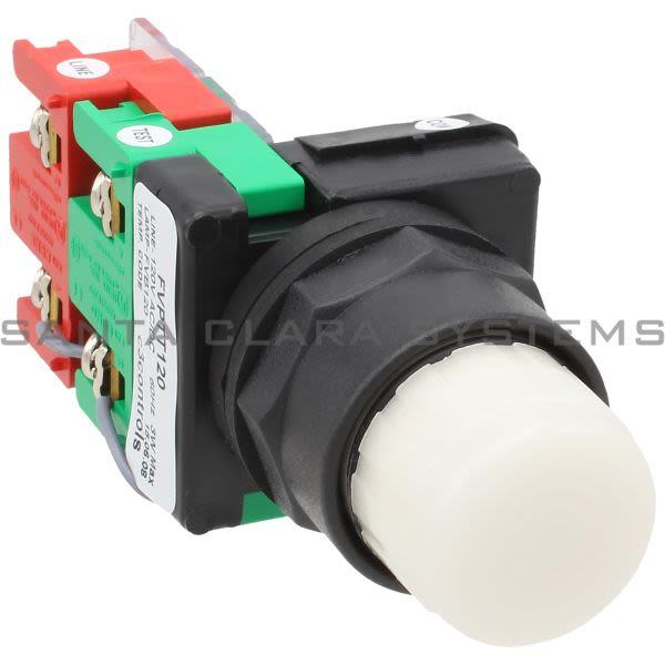 C3 Controls FVPTT120-IPBCWE Pushbutton | White Product Image