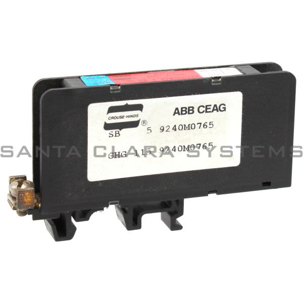 Crouse Hinds 9240M0765 ABB CEAG Spec 504 Safety Barrier Product Image